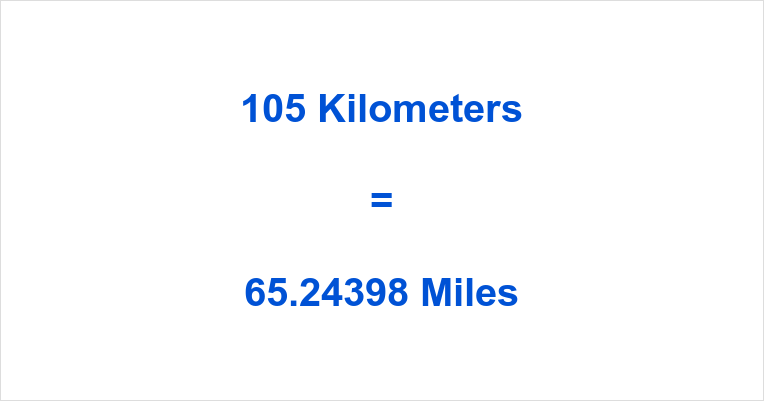 Of Course You Already Know The Answer To These Questions 105 Kilometer Miles 65 244 International More About Units Kms Can